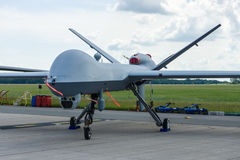 Unmanned combat air vehicle General Atomics MQ-9 Reaper. Royalty Free Stock Photos