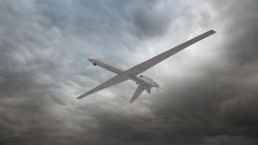 An unmanned reconnaissance drone Royalty Free Stock Photo