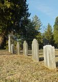 Unmarked Graves Stock Photography