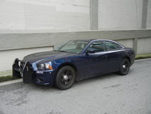 Unmarked Police Car Royalty Free Stock Photo