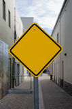 Unmarked Sign Royalty Free Stock Photos