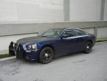 Unmarkierter Polizeiwagen lizenzfreies stockfoto