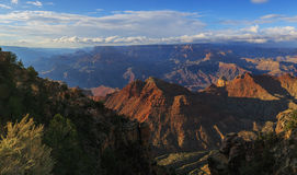 Unmatched view of Grand Canyon from South Rim, Arizona, US Royalty Free Stock Photography