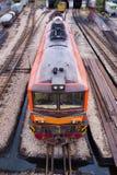 Unmove lokomotywa Fotografia Royalty Free