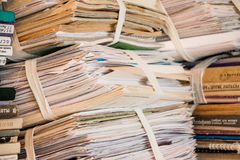 Unnecessary books and paper 2. Unnecessary books and paper, waste paper 2 Royalty Free Stock Photo