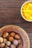 Unniyappam - palle della pasta della banana Fotografia Stock Libera da Diritti