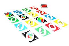 Uno card Stock Images