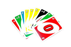 Uno card Stock Image