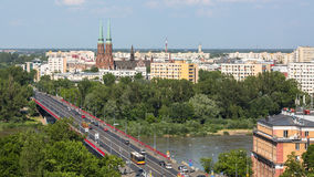 Uno città di Varsavia della via di vecchia (sguardo fisso Miasto) è il più vecchio distretto storico di Varsavia (XIII secolo) Fotografia Stock Libera da Diritti