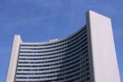 UNO city building in Vienna stock image