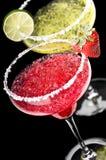 Uno clásico y una fresa Margarita Imagenes de archivo