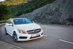 Uno-clase de Mercedes-Benz foto de archivo libre de regalías