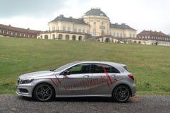 Uno-Clase del Benz de Mercedes Imágenes de archivo libres de regalías