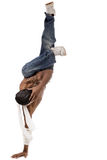 Uno dado danza del salto de la cadera Fotos de archivo libres de regalías