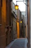 Uno de la calle de Mdina - Malta Fotografía de archivo