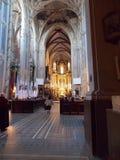 Uno de la iglesia de Lviv del interior Foto de archivo