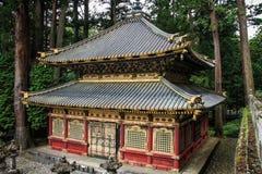 Uno de los almacenes sagrados de Sanjiko, capilla de Toshogu, prefectura de tochigi, Japón fotografía de archivo