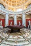 Uno de los cuartos del museo del Vaticano Foto de archivo libre de regalías