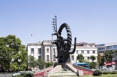 Uno de los iconos de Ankara, hitita Sun Fotos de archivo