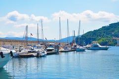 Uno de Marin en la isla de Elba Fotografía de archivo libre de regalías