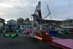 Uno dei giri di carnevale nel New Jersey fotografia stock