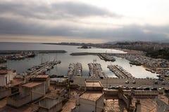 Uno dei porti della Spagna Immagine Stock Libera da Diritti