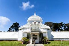 Uno dei posti famosi a San Francisco, il conservatorio di Flowe immagini stock