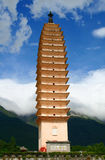 Uno dei tre Pagodas Fotografie Stock
