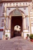 Uno dell'entrata del palazzo della città, Udaipur Fotografia Stock