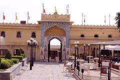 Uno dell'entrata del palazzo della città, Udaipur Fotografie Stock