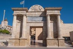 Porta romana di Cordova Immagine Stock