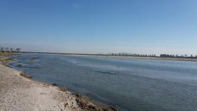 Uno di più grande fiume fiume vigoroso Brahmaputra del ` s dell'India di più grande immagini stock