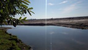 Uno di più grande fiume fiume vigoroso Brahmaputra del ` s dell'India di più grande immagine stock libera da diritti