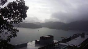 Uno di più grande lago nell'isola di Formosa fotografie stock