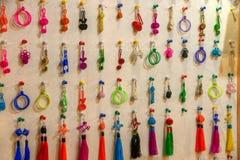 Uno di sei negozi del sud delle decorazioni di Xitang della città Fotografie Stock