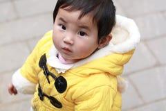 Uno e mezzo anni di bambino Fotografia Stock