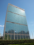 UNO-Headquarters Lizenzfreies Stockbild
