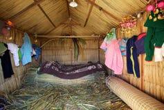 Uno Island, Puno, Pérou photo libre de droits
