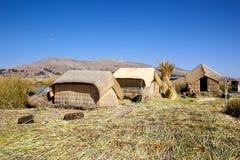 Uno Island, Puno, Peru Imagens de Stock