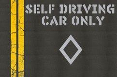 Uno mismo que conduce concepto de los coches Fotografía de archivo libre de regalías