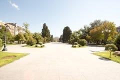 Uno parcheggia la capitale di Bacu Fotografie Stock