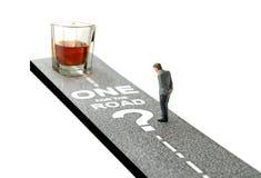 Uno per la strada? Fotografie Stock Libere da Diritti