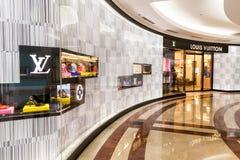 Uno sbocco di Louis Vuitton LV a KLCC Kuala Lumpur Fotografia Stock Libera da Diritti