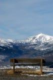 Uno sguardo al Gran Sasso - l'Abruzzo - l'Italia Immagini Stock Libere da Diritti