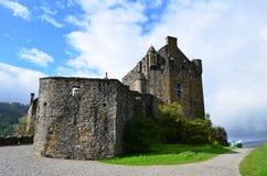 Uno sguardo grazioso a Eilean Donan Castle Fotografia Stock