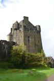 Uno sguardo raro a Eilean Donan Castle Fotografie Stock