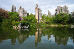 Uno-Shi-MA nombrado piedra caliza en Kunming Shilin Fotos de archivo libres de regalías