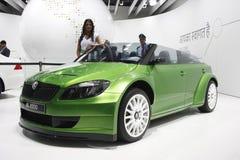 Uno Skoda RS 2000 su visualizzazione all'Expo automatica 2012 Immagine Stock Libera da Diritti