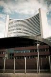 UNO-Stadt-Kontrollturm Stockfoto