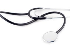 Uno stetoscopio immagine stock libera da diritti